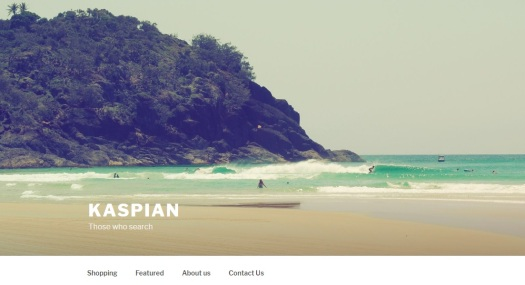 Kaspian web page